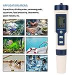 Nannday-Tester-di-qualita-dellAcqua-Tester-Professionale-5-in-1-misuratore-di-qualita-dellAcqua-Tester-di-Temperatura-della-salinita-PH-TDS-Tester-per-Penna-EC-per-Piscina-di-Acqua-Potabile