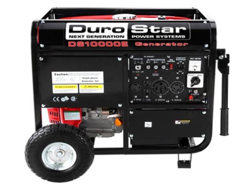 Durostar DS10000E-CA 16 HP  Gasoline perform Electric Start easily transportable Generator, 10000-watt Reviews