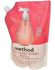 Method Gel Hand Wash Refill, Pink Grapefruit, 1L