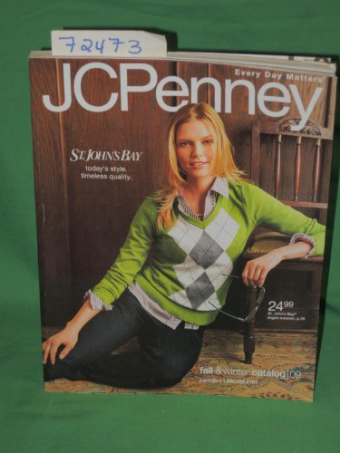 J C Penney Fall and Winter Catalog 2009 (Jcpenney Catalog)