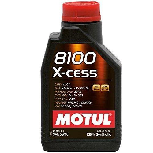Motul 104981 8100 0w20 Eco-Lite Oil, 1L