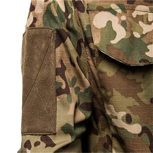 SFYZY Hoodie Veste Sweat Lourd Camouflage Zipper Workerhoodie Pull Veste Tactique Militaire Outdoor Randonnée Chasse… 7