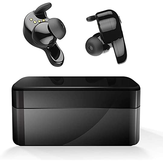 1f263309068 Don't Miss This Deal on Wireless Earbuds, AMINY U-Winner Bluetooth 5.0 True  Wireless Bluetooth Earbuds with Charging Case 20H Play time 3D Stereo Sound  ...