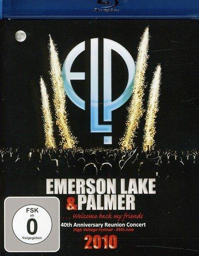 Blu-ray : Emerson, Lake & Palmer - 40th Anniversary Reunion 2010 ELP (Portugal - Import)