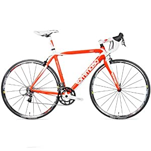 Tommaso Volo Road Bike (Race Carbon) , Red, 61cm