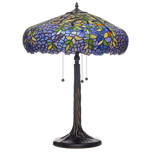 Labumum Tree Tiffany-Style Table Lamp