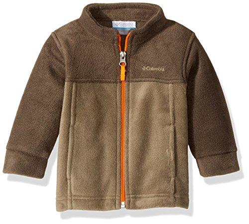 Columbia Baby Boys' Steens MT II Fleece, Sage, Major, 6-12 Months (Fleece Sage)