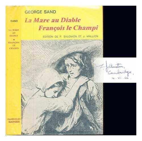 La Mare Au Diable; Francois Le Champi