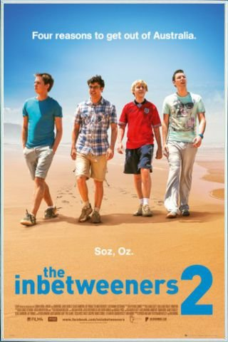 Amazon.com: The Inbetweeners Movie Poster and Frame (Plastic) - 2 ...