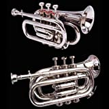 True Bb Zweiss Pocket Cornet, British Designed. A