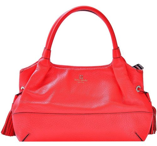 - Kate Spade Stevie Southport Avenue In Flame Leather