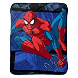 Marvel Punto de edredón edredón Reversible de Microfibra de Spiderman de, Burst Throw, 1, 1