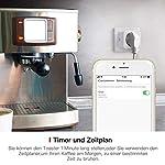 Smart-WLAN-Steckdose-4er-Pack-TECKIN-Mini-Smart-Plug-16A-funktioniert-mit-Android-und-iOS-Alexa-Google-Home-und-IFTTT-mit-App-Steurung-berall-und-zu-jeder-Zeit-4-PCS-Energieklasse-A