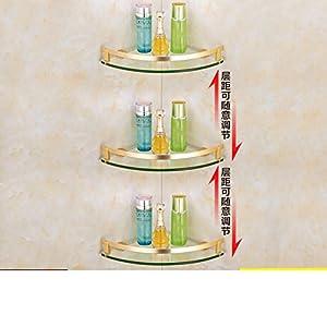 Space aluminum bathroom racks/the shelf in the bathroom/Hanging triangle Towel rack-E good
