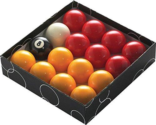 NOUVEAU POWERGLIDE Boules de billard snooker joueurs rouge et jaune TOURNOI balles