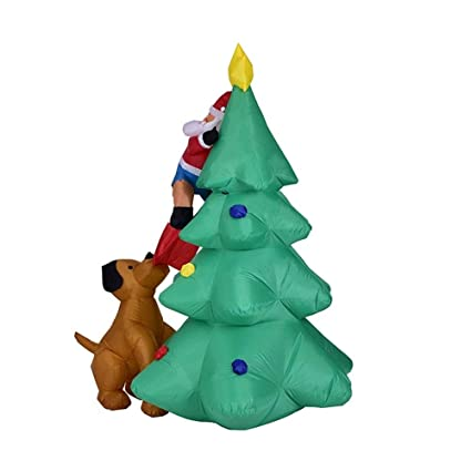 Amazon.com: Hobbbms - Papá Noel inflable con diseño de Papá ...