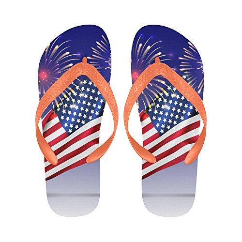 Interestprint Antislip Flip-flop Slippers, Etnische Indische Olifant Zomer Strand Slim String Sandaal Outdoor Casual Schoenen Multi 7