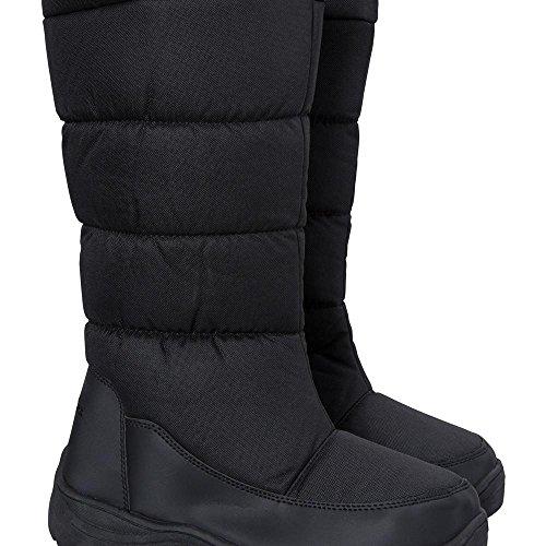 Mountain Warehouse Icey Womens Long Snow Boots Black 6 M US Women 8d45c36ec37f