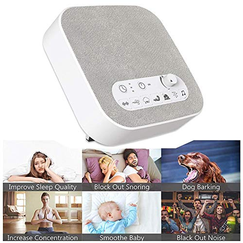 White Sleep Unique Natural Timer Baby Adults Disorders Travel Portable Maker Timed Instrument Sleeping