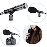 Neewer® Professional Uni-Directional System Pro Condenser Camera Camcorder Shotgun Interview MIC Microphone for Sony Canon JVC Toshiba Nikon Olympus Panasonic Fuji Other HDSLRs DV Camcoders