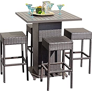 Amazon Com Crosley 5 Piece Palm Harbor Outdoor Wicker