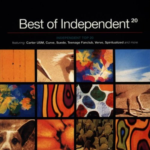 Price comparison product image Best of Independent 20: Independent Top 20 featuring Carter USM, Curve, Suede, Teenage Fanclub, Verve,  Spritualized and more