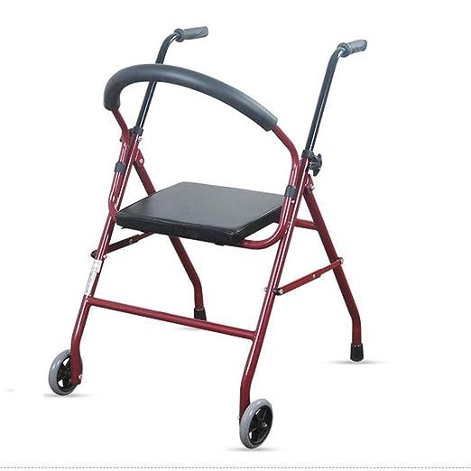 EGCLJ Aleación De Aluminio Andadores Andador Ancianos con ...