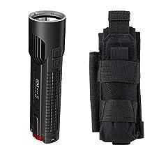Bundle: Nitecore EC4S 2150 Lumen Flashlight CREE XHP50 LED w/ NCP40 Holster