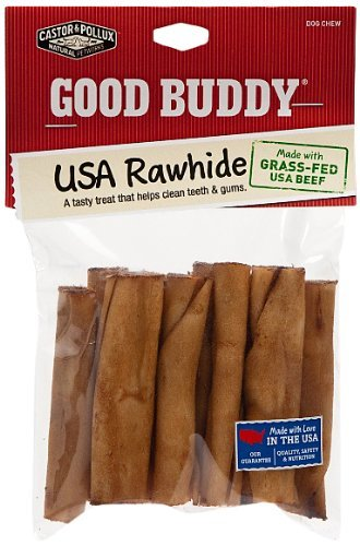 Good Buddy 10 Count USA Mini Rolls Treat for Pets, 2-3-Inch
