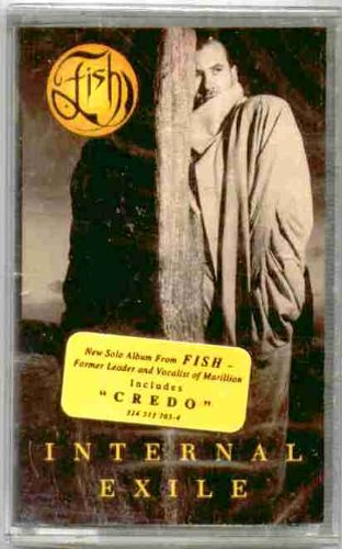 Price comparison product image Fish ~ Internal Exile (Original 1991 Polydor Records 513765 CASSETTE Tape NEW Factory Sealed in the Original Shrinkwrap with HYPE Sticker ~ Features 9 Tracks ~ See Seller's Description For Track Listing)