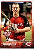 2015 Topps Update #US65 Todd Frazier Baseball Card in Protective Display Case