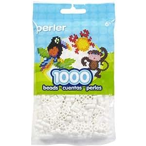 Perler Beads Bead Bag, White