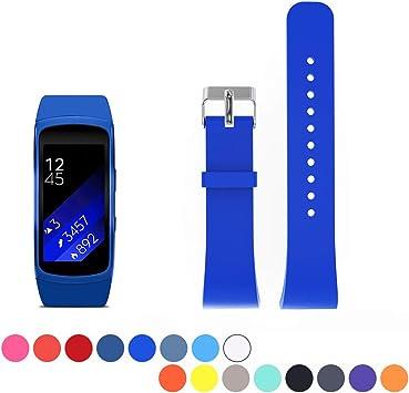 Correa de repuesto de reloj para Samsung Gear Fit 2 SM-R360. Suave ...