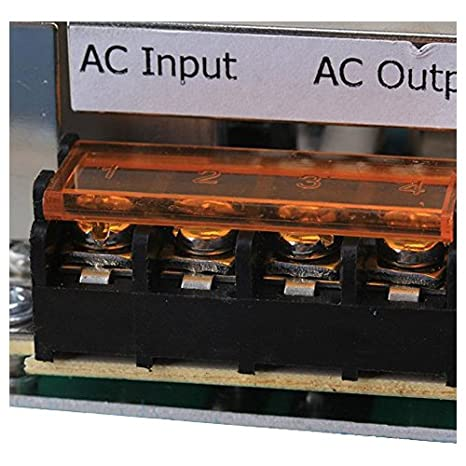 Gobernador - TOOGOO(R)De alta potencia de 4000W 220V controlador de velocidad SCR Voltaje Electronico Regulador Gobernador Termostato: Amazon.es: Bricolaje ...
