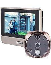 720P WiFi Timbre inalámbrico de vídeo para cámara de Seguridad con Dos vías de Audio, cámara HD de visión Nocturna por Infrarrojos, Control de detección de Movimiento, para iOS y Android