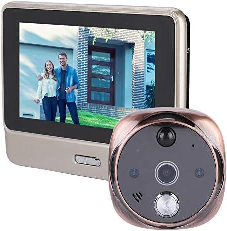 WiFi Network Video Door Phone Doorbell 720P Y10 Smart Doorphone Video Doorbell Real-time Two-Way Monitoring Intercom Doorphone, Home Security System with IR Night HD Camera