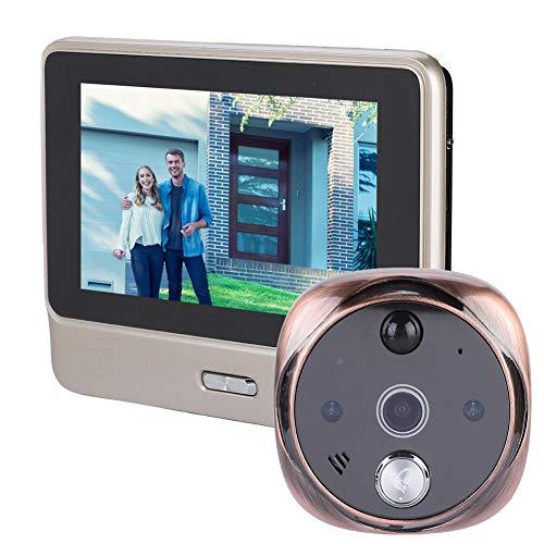 WiFi Network Video Door Phone Doorbell 720P Y10 Smart Doorphone Video Doorbell Real-time Two-Way Monitoring & Intercom Doorphone, Home Security System with IR Night HD Camera