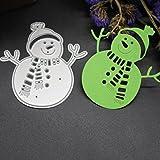 callm Christmas Cutting Dies, Paper Card Making Metal Die Cut Stencil Template for DIY Scrapbook Photo Album Embossing Craft Decoration (B)