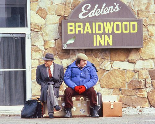 - Planes Trains & Automobiles Featuring John Candy, Steve Martin 8x10 Promotional Photograph