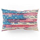 Society6 Amerikka Pillow Sham King (20'' x 36'') Set of 2