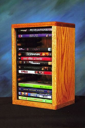 The Wood Shed 110-1 DVD Storage Cabinet - Dark by CD Racks