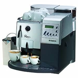 Saeco Royal Coffee Bar Automatic Espresso Machine, Silver and Graphite