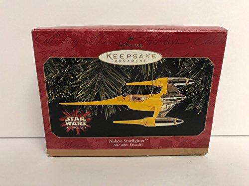Hallmark Ornament STAR WARS Naboo Starfighter EPISODE 1 dated (1999 Naboo Starfighter)