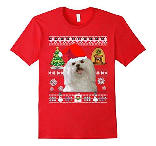 Maltese Dog Mom Shirt Women Christmas Love Gifts