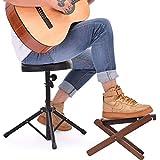 Guitar Footstool Solid Wood Guitar Pedal Guitar