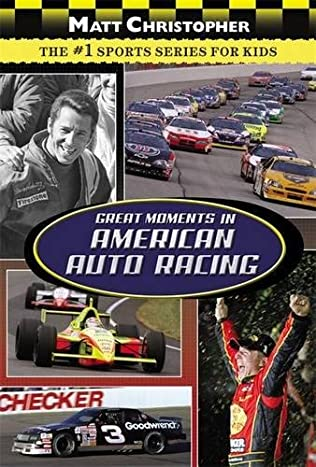book cover of Great Moments in American Auto Racing