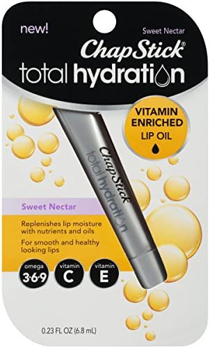 ChapStick Hydration Vitamin Enriched Contains