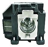 V7 Replacement Lamp for Epson projector V13H010L67 - V13H010L67-V7-1N