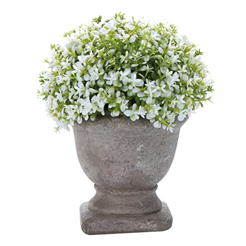 HC STAR Artificial Plant Potted Mini Fake Plant Decorative Lifelike Flower Green Plants - 1302