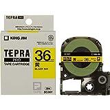 キングジム テープカートリッジ テプラPRO 36mm SC36Y 黄